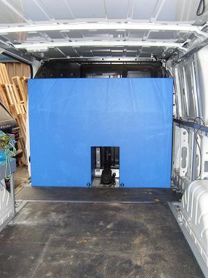 E M P F Window Cleaning Tank In Transit Van