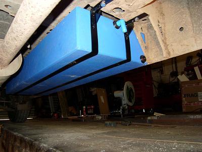 E M P F Installing Under Body Tanks